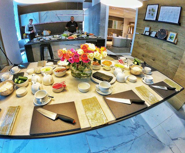 Tubądzin Blog Day - warsztaty Sushi