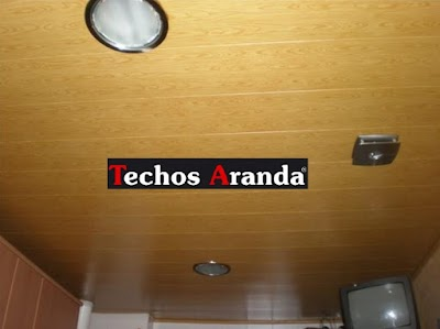 Precio economico techos registrables Madrid