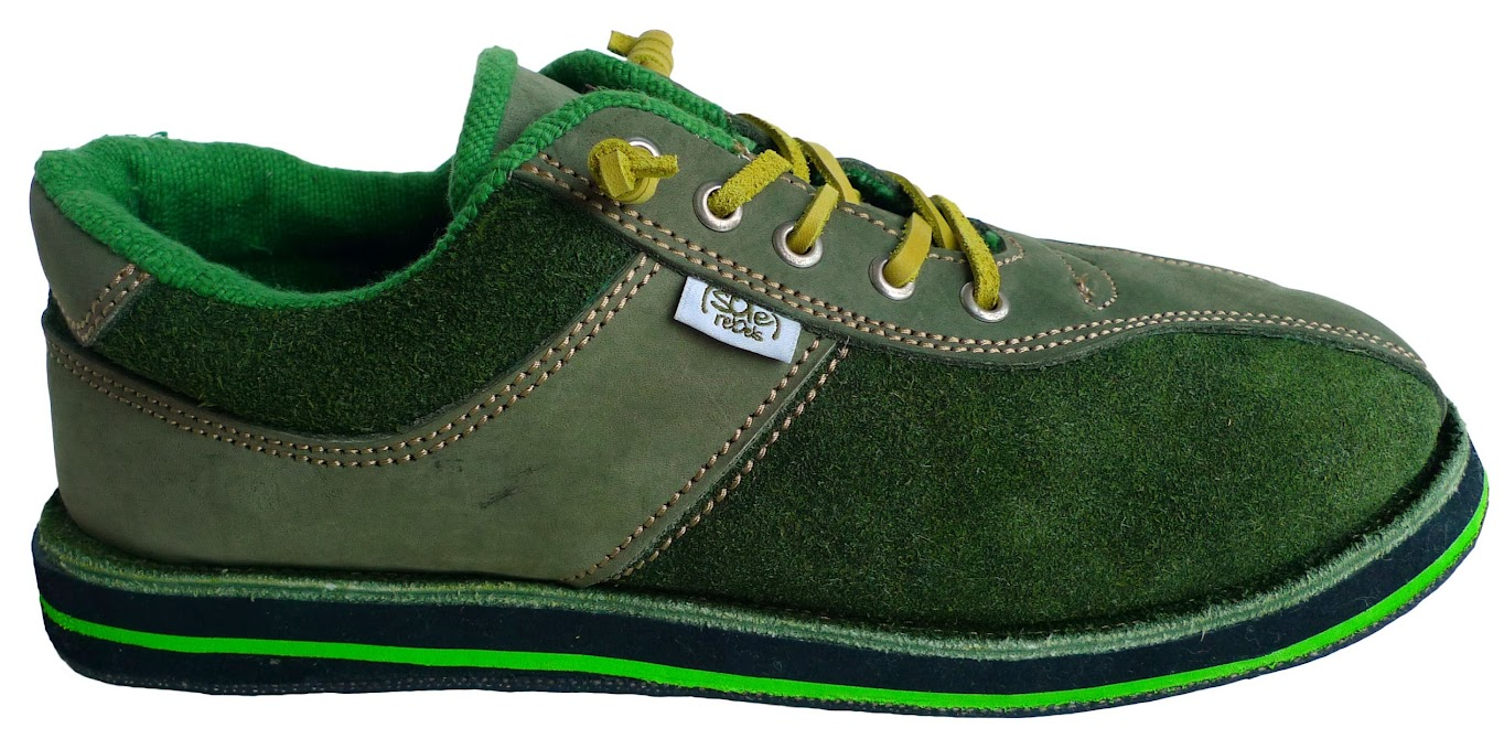* soleRebels 雙重麂皮輪胎鞋:ONE TONE也有層次感 2