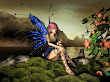Blue Wings Small Fairy