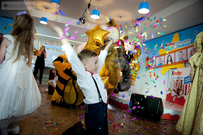 Детский праздник kinderchocolate аниматоры со стажем Фруктовая улица