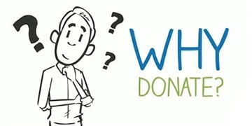 why donate with us