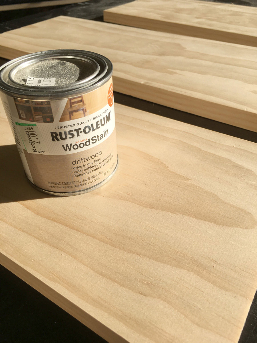 Rustoleum driftwood wood stain