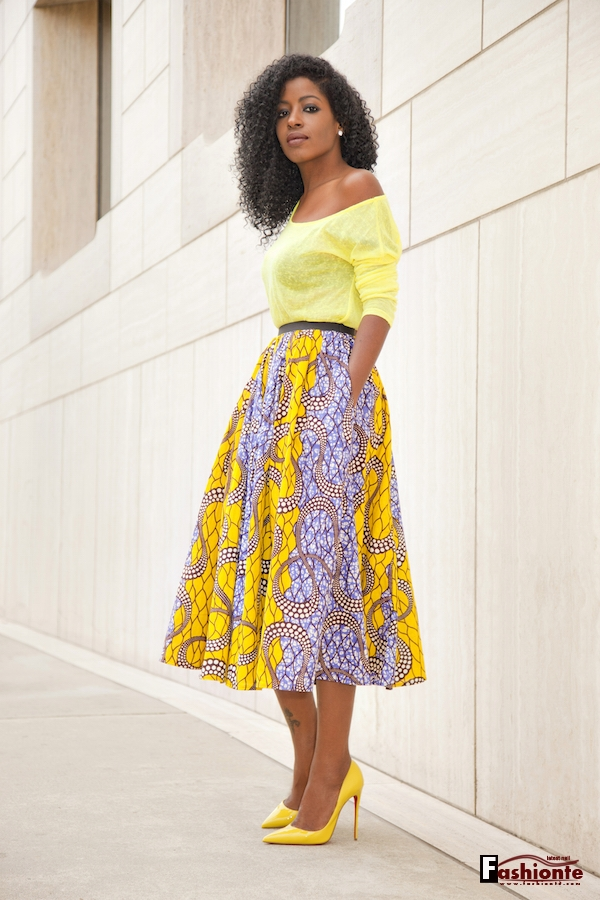 50 Latest Nigerian Lace Skirt and Blouse Ankara Styles ...