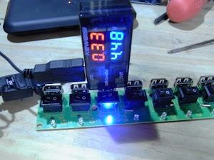 USB-HUB VBUS電圧
