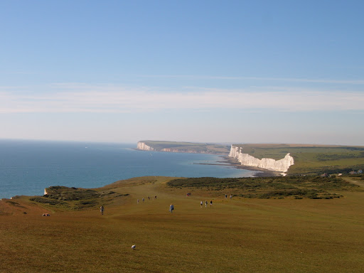 Seaford Head from the LIghthouse