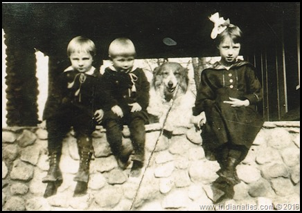 Robert, Frank, Charlotte Niehaus, About 1920