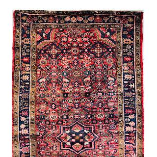 Hamadan Wool Area Rug