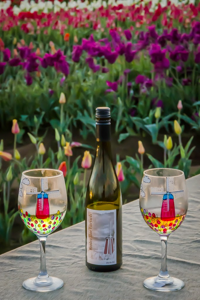 """Tulip Wine"" by Valerie Henschel - 3d Place Special A"