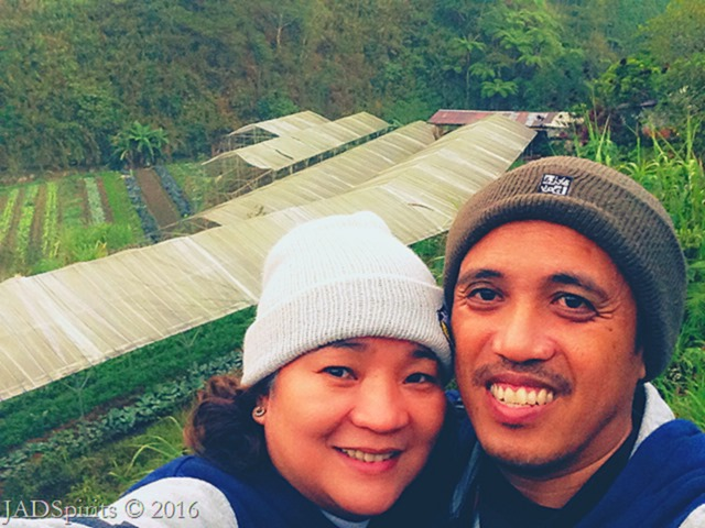 Just the 2 of Us moment at LOV Organic Farms