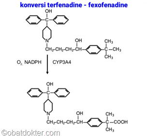 konversi-terfenadine-fexofenadine