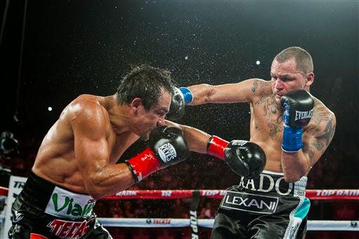 Juan Manuel Márquez vs Mike Alvarado