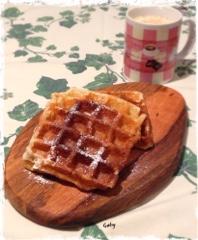 Waffles in Bruges del maestro Gianluca Fusto