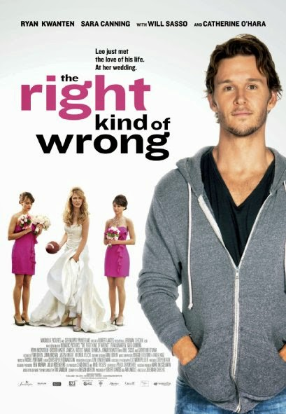 Poster Of English Movie The Right Kind of Wrong (2013) Free Download Full New Hollywood Movie Watch Online At alldownloads4u.com