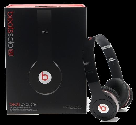 Headphone Solo HD Beats By Dr. Dre Solo HD Preto