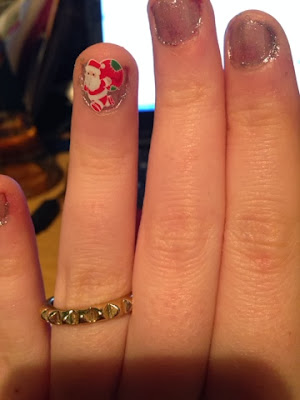 Sparkly Nails Christmas Water Decals