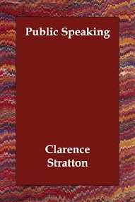 Cover of Clarence Stratton's Book Public Speaking
