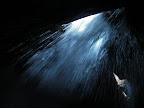Visite possible mais pas obligatoire de la grotte à la fin du canyon.