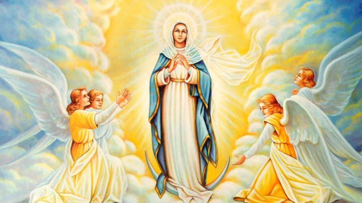 Theo Đức Mẹ lên trời