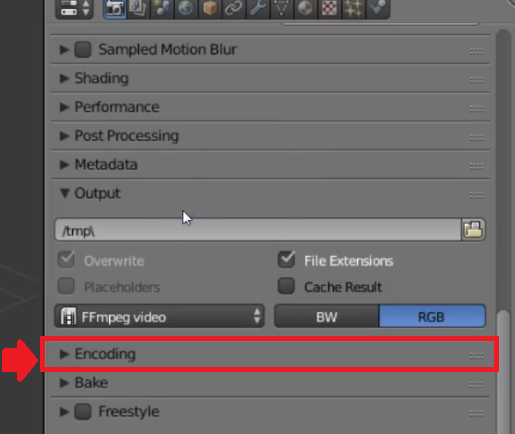 encoding-option-blender