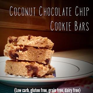CoconutChocolate Chip Cookie Bars