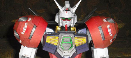 AGE1T Gundam Titus Papercraft