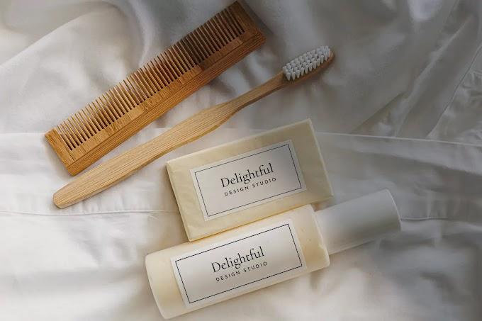 Soap & Shampoo Mockup PSD Free