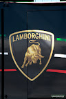 Lamborghini Logo on Semi Trailer