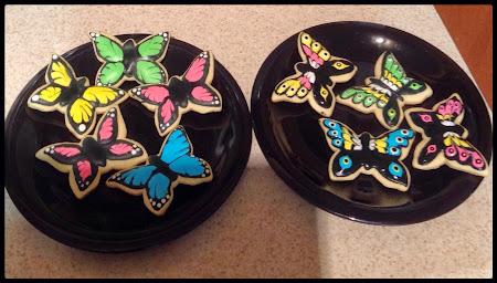Ciastka kruche motyle,motylki