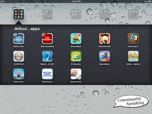Consonantly Speaking Articulation Apps