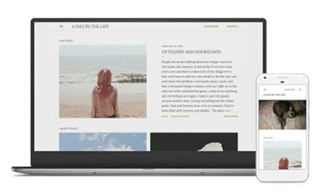 soho blogger theme download