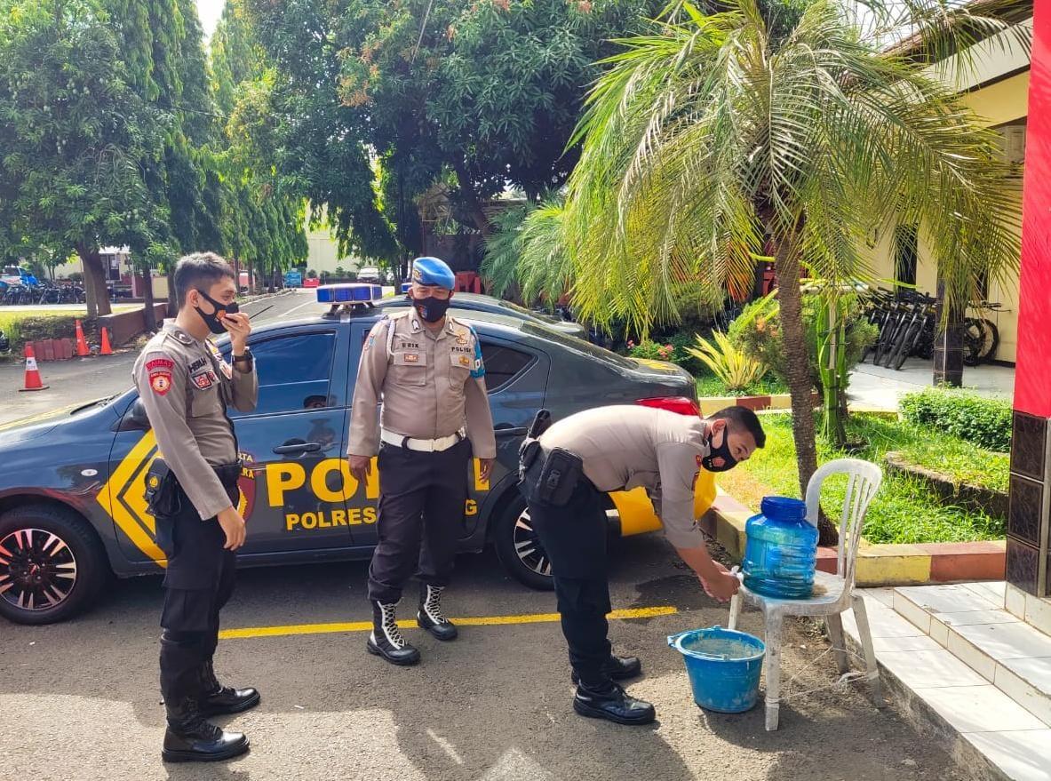 Polres Subang Polda Jabar Semakin Gencar Gelar Pendisiplinan Protokol Kesehatan