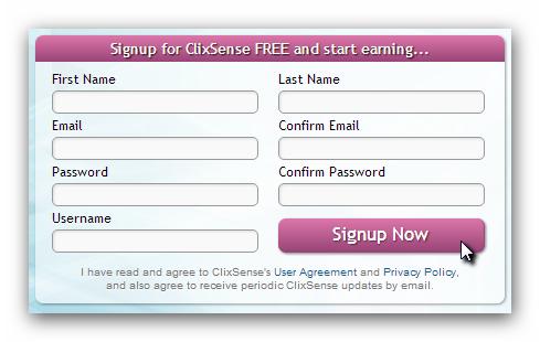 clixsense registro