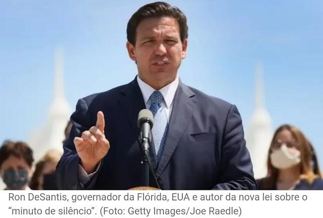 Governo da Flórida assina lei que incentiva alunos a orar: 'Não há sucesso sem Deus'