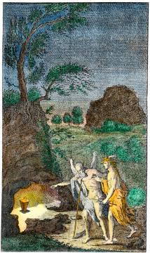 From P M Von Respurs Besondere Versuche Vom Mineral Gleist 1772, Alchemical And Hermetic Emblems 2