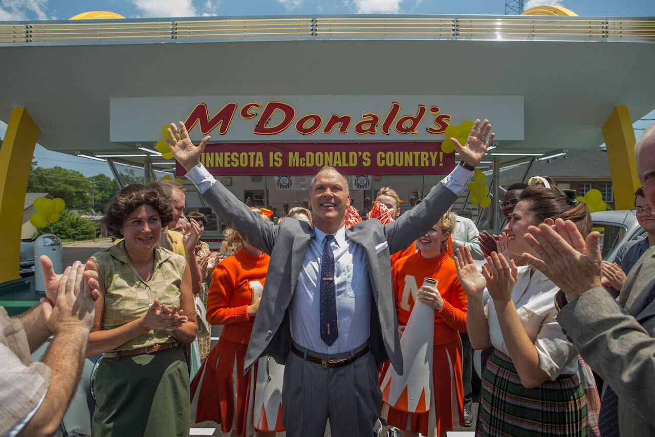 Michael Keaton in Ray Kroc in THE FOUNDER.