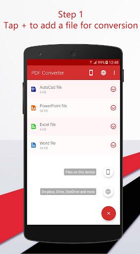 PDF Converter 1.0.19 screenshots 3