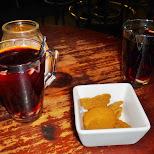 glogg - gluwein at a pub in Copenhagen, Copenhagen, Denmark
