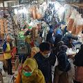 Jelang Idul Adha 1442 H Dimasa PPKM Darurat, Pasar Cipanas Mulai Ramai