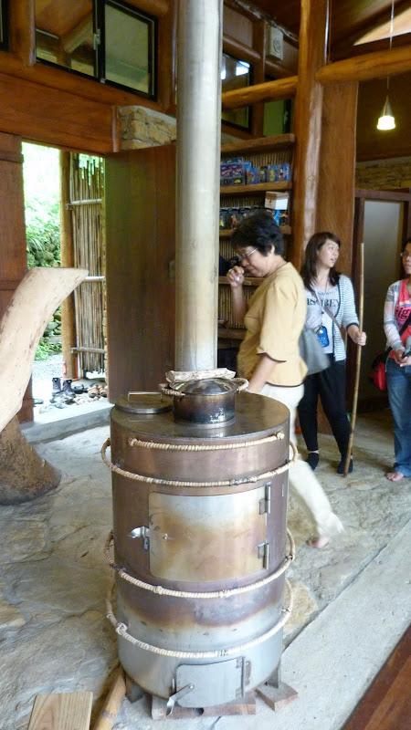 Un poêle, rarissime à Taïwan