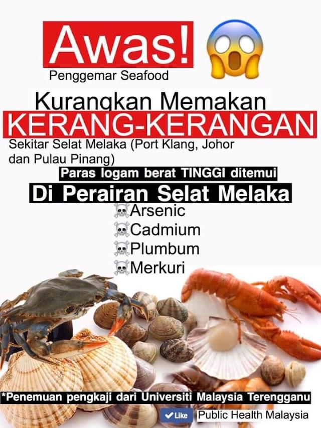 Hentikan Makan Seafood Buat Sementara!