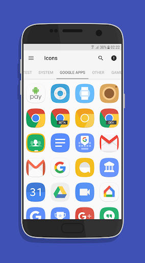 UX Experience S8 - Icon Pack app for Android screenshot