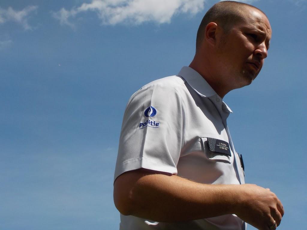 De Knetters op bezoek bij de politie - DSCN0317.JPG