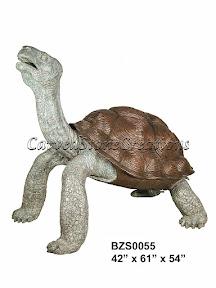 Bronze, Statue, Tortoise