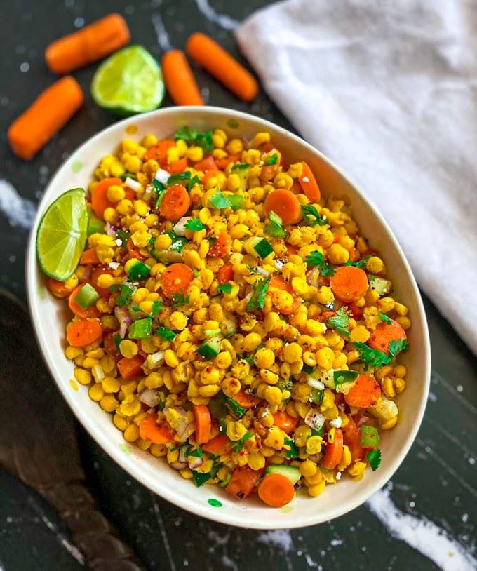 Chana Dal Salad Recipe | Breakfast Care
