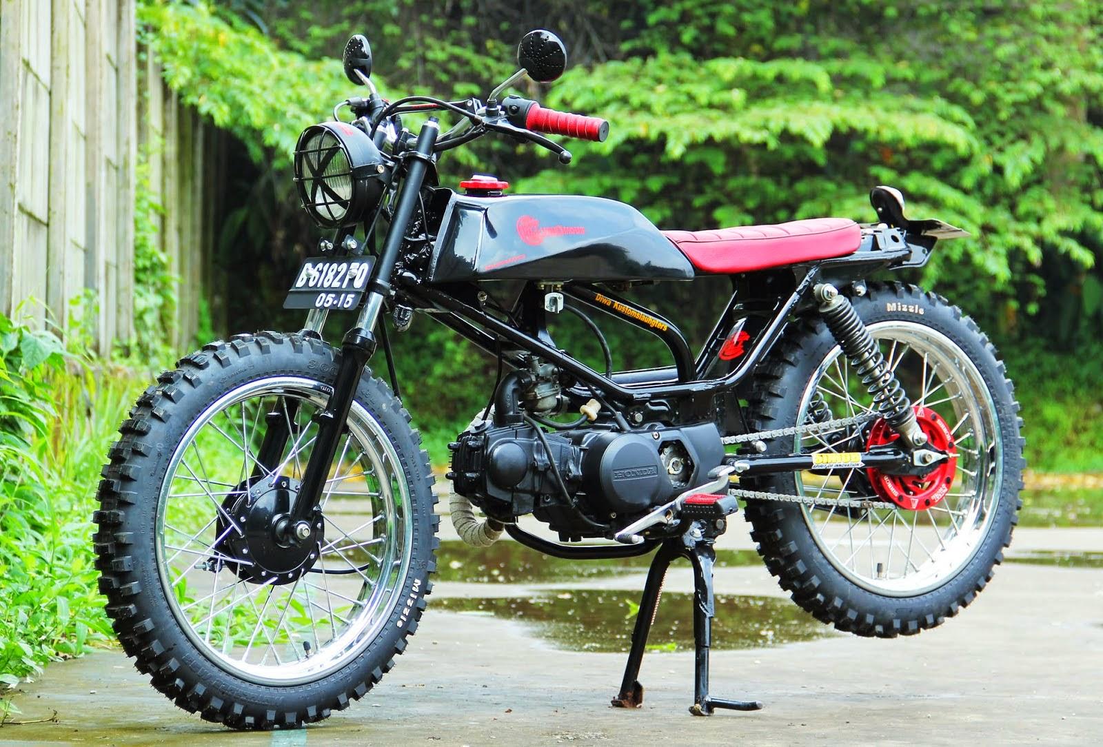Modifikasi Motor Honda Jadi Harley Gambar Modifikasi Terbaru