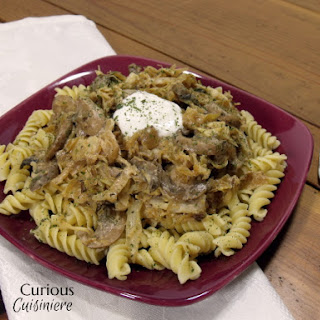 Polish Cabbage and Noodles (Lazanki).
