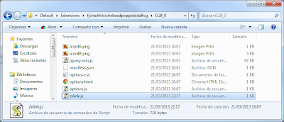 Extensión Chrome Nas Blusens 1