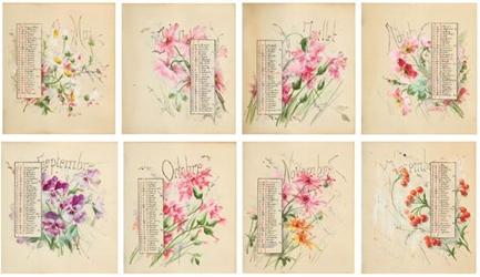 Calendarul pictat de Regina Elisabeta a fost vedeta Licitaţiei România Regală