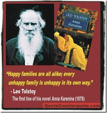 Anna Karenina quote, Leo Tolstoy (1878) 02a